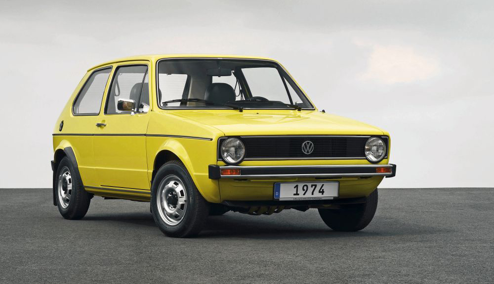 VW Golf (1974 lato) – hit Volkswagena