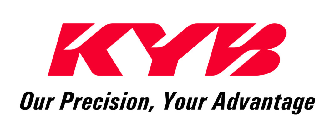 KYB logo Our precision your advantage